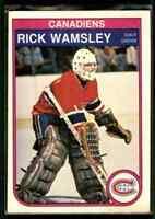 1982-83 O-Pee-Chee Rick Wamsley Rookie #195