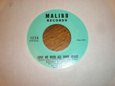 Bobby Bennett 45 Love Me With All Your Heart MALIBU