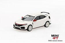 1/64 MINI GT Honda Civic Type R FK8 Championship White Modulo kit LHD In Stock