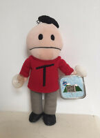 """Terrance From South Park 9"""" Plush Soft Toy With Suction Grips 1998 Comedy Centra"""