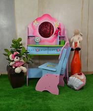 Schminktisch Stuhl Fee Fairies Schreibtisch Kinderzimmer Pink Rosa