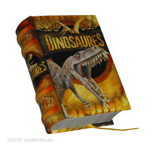 "new small 2.65"" tall book Dinosaures in french with illustrations great gift"