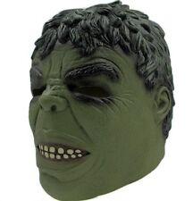 Deluxe Adulte Incroyable Hulk Latex Masque Hulk Halloween Tête Complète Masque