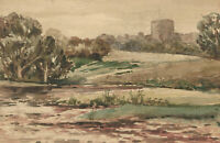 C.R. Young - Signed Early 20th Century Watercolour, A Trio of British Scenes