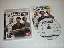 Sony Playstation 3 / PS3 ~ ~ topspin 3 complet / très bon