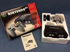 Nintendo 64 N64 System Console Complete in Box CIB Controller Super Bundle NICE!
