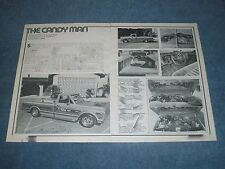 """1971 Chevy Cheyenne Custom Long Bed Vintage Article """"The Candy Man"""""""