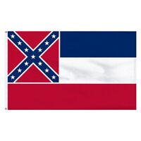 Mississippi 3ft x 5ft Cotton Flag