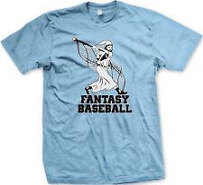 Fantasy Baseball Wizard Wand Bat League Magic Hat Robe Internet Am Men's T-Shirt