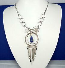 Gorgeous Handmade Peruvian Soladite Alpaca Silver Necklace - Boho Jewellery