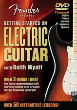 Fender Presents Getting Started on Electric Guitar Instructional DVD N 000320293