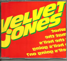 VELVET JONES What the Hell's Going on 3 UNRELEASED TRX CD single 1994