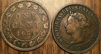 1884 CANADA LARGE 1 CENT COIN PENNY G+ BUY 1 OR MORE ITS FREE SHIPPING!