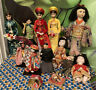 Lot Vintage Japanese 💎Chinese Asian Doll Pacific Rim Traditional Costume Geisha
