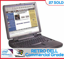 Dell Latitude Commercial Laptop Windows 95 98 Win98 Serial DOS Gaming Pentium 2