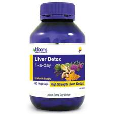 Blooms Liver Detox (1 a day) 60 Capsules (2 months) - Cleanse - High Strength