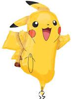"Pokemon Pikachu Birthday Party Decoration 31"" Giant SuperShape Foil Balloon"