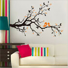 Removable Couple Birds Branches Wall Sticker Art Mural Wall Decal Home Decor Diy
