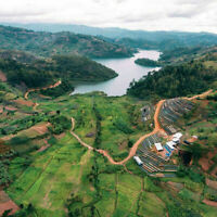 Rwanda Fair Trade Coffee Whole Beans Fresh Roasted Medium Daily 2 / 1 Pound Bags