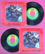 LP 45 7'' COMMODORES Slippery when wet The bump 1975 italy MOTOWN no cd mc dvd