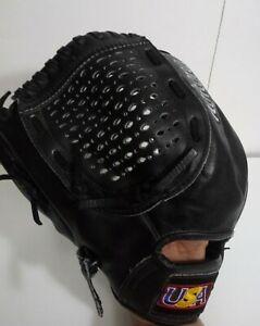 "Nokona AMG-1200  11.5 "" Genuine Leather Baseball Glove Left Hand Throw black"