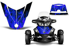 Can Am BRP RTS Spyder Roadster Hood Graphic Kit Decal Sticker Wrap 10-11 ICE BLU