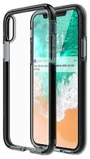 iPhone X Case Cover Shock-Absorption Bumper Hard PC Back Panel