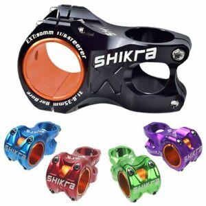 Bike Riser Stem Mountain Road Ultralight 35mm 31.8mm Handlebar 50mm MTB AM XC DH