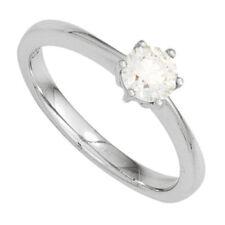 Gut geschliffener Echtschmuck mit 52 (16,5 mm Ø) Diamant