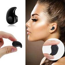 Schwarz Wireless Bluetooth Kopfhörer S350 4.0 Headset Ohrhörer In-Ear Earphone