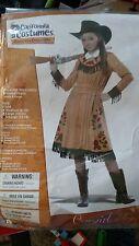 California Costumes Annie Oakley/cowgirl child costume, 12-14