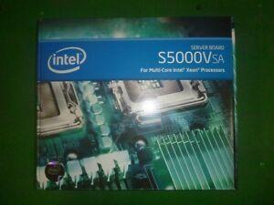 Intel S5000VSASATAR BSA2BBR Dual LGA771 DDR2 SSI EEB 3.6 Server *New Sealed Box*