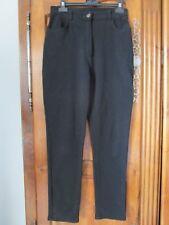 Pantalon noir côte de cheval femme taille 38/40 libellé 42 100% polyamide