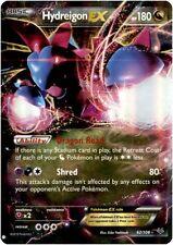 Pokemon Roaring Skies Hydreigon-EX - 62/108 - Holo Rare EX Card