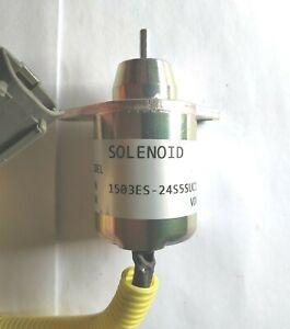 24V Fuel Shut Off Down Stop Solenoid 1503ES-24S5SUC12S for YANMAR
