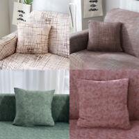 2Pcs Home Sofa Pillow Case Cover Waist Throw Cushion Protector Decor Comfortable
