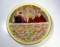 "Vintage Royal Doulton 15"" Chop Plate Round Platter - Jackdaw of Rheims Pattern"