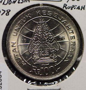 Indonesia 1978 100 Rupiah  292064 combine shipping