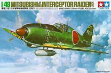 Mitsubishi J2M3 Raiden (con piloto y tierra Tripulación)/af japonés MKGS/#18 1/48 Tamiya