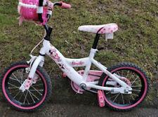 12 in Pink Minnie Mouse Kids Bike Adjustable Girls Bicycle Training Wheels Brake