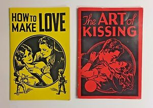 The Art of Kissing and How to Make Love Hugh Morris 1987 1988 Vintage Reprint