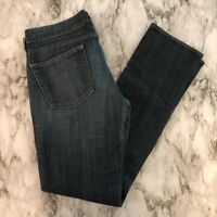 J Crew Stretch Women's Matchstick Blue Jeans Size 28R