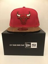New Era 59 Cincuenta Chicago Bulls Ajustada Gorra De Béisbol Talla 7 1/2 (59.6 Cm)