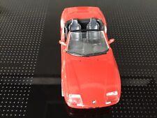 BMW Z1  Metall Auto mit Plastikteilen 1:24 In Rot