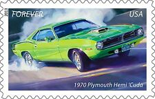US 4747 Muscle Cars 1970 Plymouth Hem 'Cuda forever single MNH 2013
