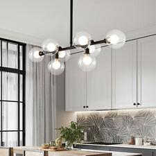 Large Chandelier Lighting Black Pendant Light Kitchen LED Ceiling Light Bar Lamp