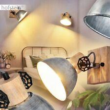 Wand Strahler Schlaf Zimmer Lampe Spot Leuchte schwarz gold Kugel verstellbar Honsel Leuchten 30850