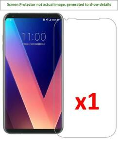 1x LG V30/H930/VS996/H931/H932/US998 Anti-Scratch Screen Protector w/ cloth