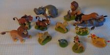 12 piece LION KING toy figures guards hippo lions Cake Toppers Disney