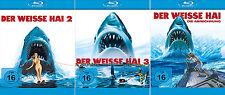 Der weisse Hai 2 + 3 +  4 Collection (Roy Scheider) Jaws         | Blu-ray | 059